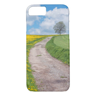Dirt Road and Tree iPhone 7 Case
