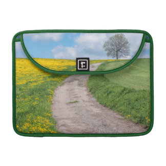 Dirt Road and Tree Sleeves For MacBooks