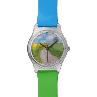 Dirt Road and Tree Wrist Watch