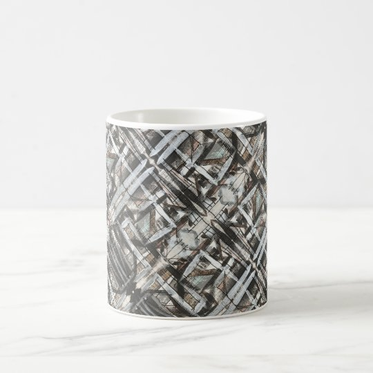 Dirt Road-Hand Painted Abstract Brushstrokes Coffee Mug