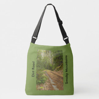Dirt Road Smoky Mountains Spring Morning Picture Tote Bag