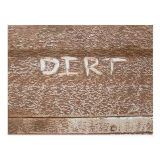 Dirt 'Tailgate Talk' Postcard