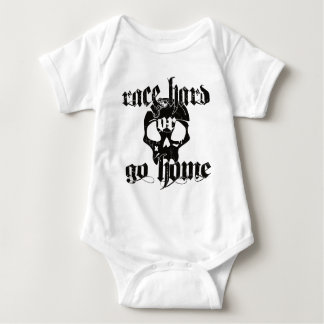 Dirt Track Racing Nascar Baby Bodysuit