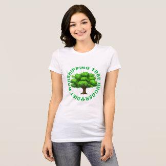 Dirt Worshipping Tree Hugger ..png T-Shirt