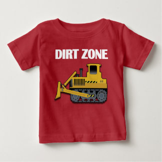 Dirt Zone (Bulldozer) - Baby Fine Jersey T-Shirt Baby T-Shirt
