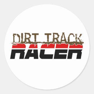 DirtRacer1 Round Sticker