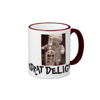 Dirty 3 Box Stein - Customized Ringer Mug