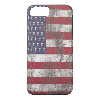 Dirty American Flag iPhone 8 Plus/7 Plus Case