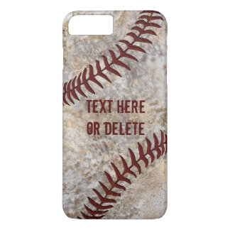 Dirty Baseball iPhone Cases, iPhone 7, 6 shown iPhone 8 Plus/7 Plus Case
