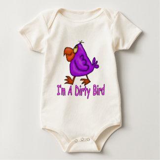 Dirty Bird Baby Bodysuit