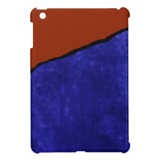 Dirty blue and orange rip iPad mini cases