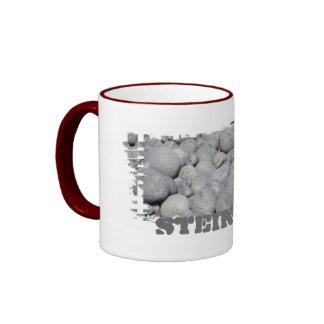 Dirty border bell cup ringer mug