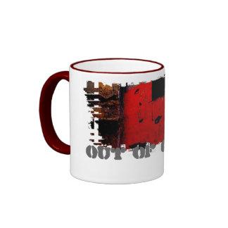 Dirty Border Ringer Mug