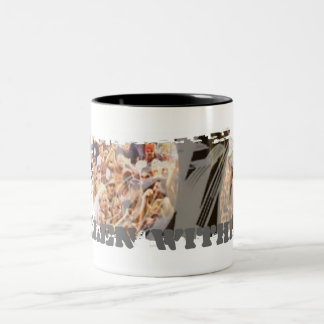 Dirty Border Ringer Mug