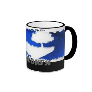 Dirty Border Ringer Mug - Customized