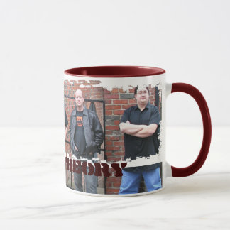 Dirty Border Ringer Mug - Customized