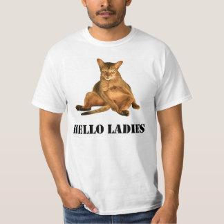 Dirty Cat TShirt, Hello Ladies Mens Graphic TShirt
