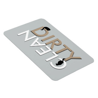 Dirty-Clean Cat Dishwasher Magnet - LG