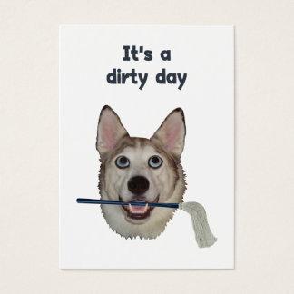 Dirty Day Dog Pee Humor