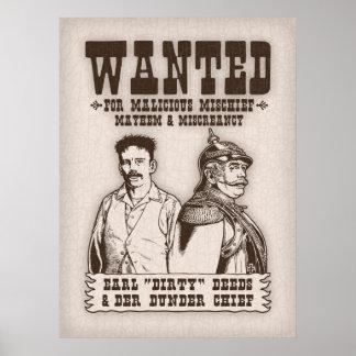 Dirty Deeds & Der Dunder Chief Poster