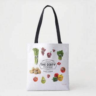 'Dirty Dozen' Tote Bag- Buy these organic!
