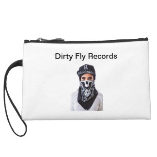 Dirty Fly Records clutch Wristlet Purse