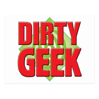 Dirty Geek v2 Post Card