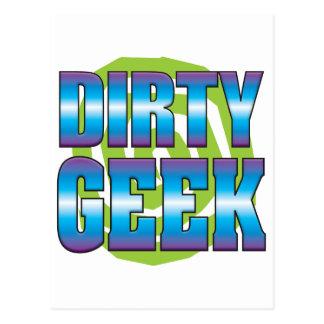 Dirty Geek v3 Post Card