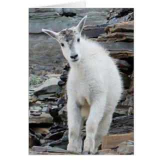 Dirty Kid Glacier Goat Card