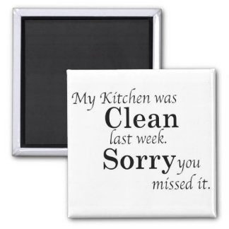 Dirty Kitchen Magnet