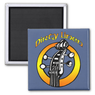 Dirty Linen magnet