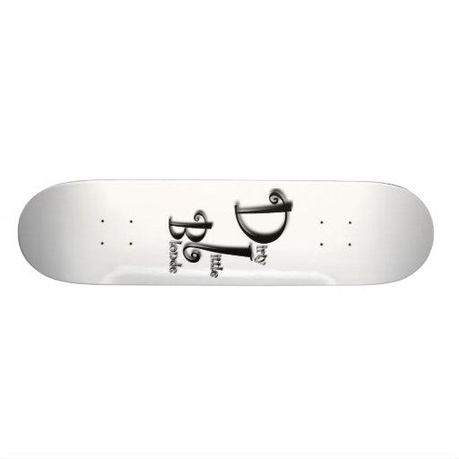 Dirty Little Blonde Skateboard