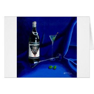 Dirty Martini Card