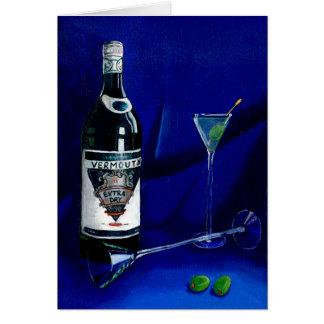 Dirty Martini (Detail) Greeting Card