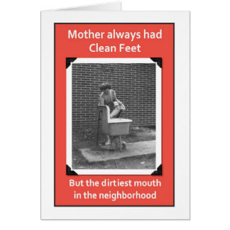 Dirty Mouth Mom Card