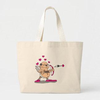 dirty old man cupid jumbo tote bag