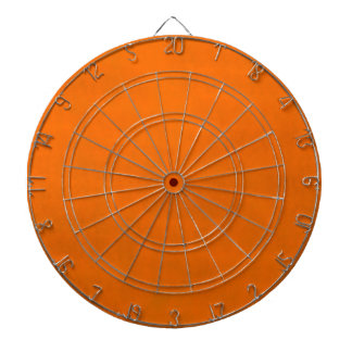 Dirty Orange Dartboard