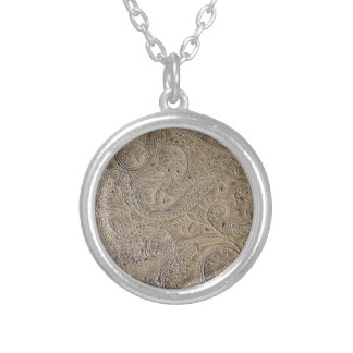 Dirty Paisley Silver Plated Necklace