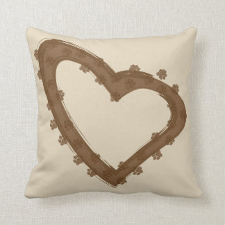 Dirty Paws Pillow