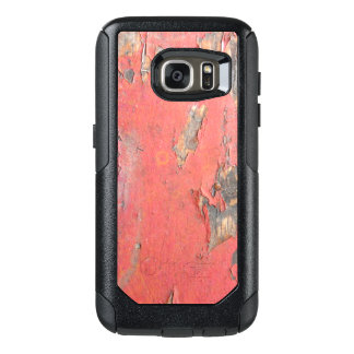 Dirty Peeling Red Paint on Barn Wood OtterBox Samsung Galaxy S7 Case