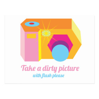 Dirty Picture Post Card