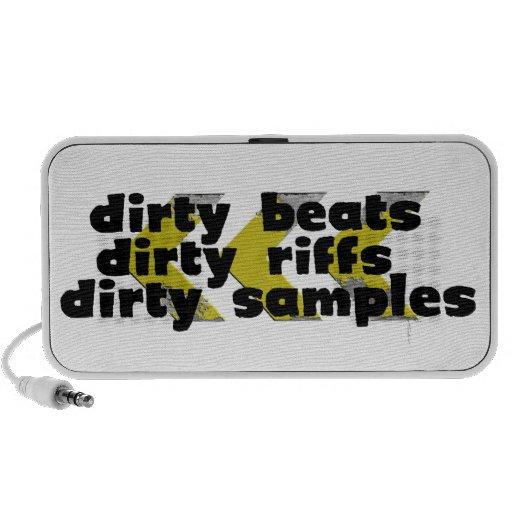 Dirty Riffs, Dirty Beats, Dirty Samples Speaker System