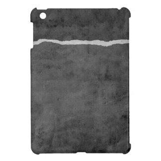 Dirty ripped paper iPad mini cover