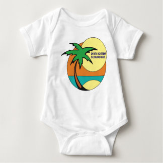 """Dirty Rotten Scoundrels"" baby bodysuit"