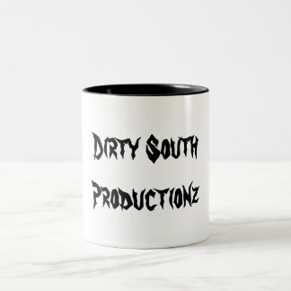 Dirty South, Productionz Two-Tone Coffee Mug