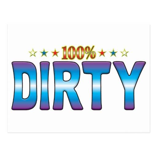 Dirty Star Tag v2 Postcards