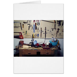 Dirty workbench card