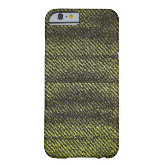 Dirty Yellow Denim Texture iPhone case