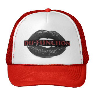DIS-FUNCTION RED TRUCKER HAT