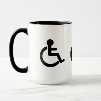Disability Disabled  Symbol Mug